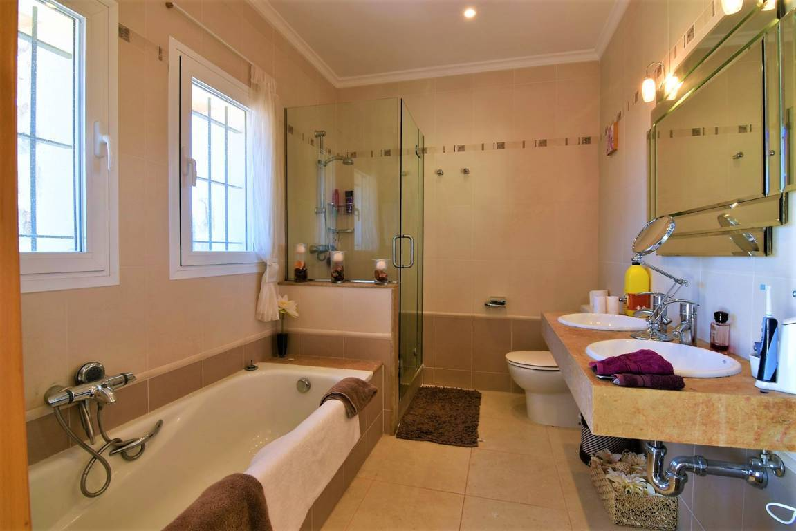 Foto de un baño de la casa