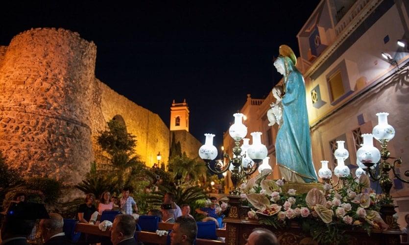 Virgen de las Nieves de Calp - Foto de calpe.es