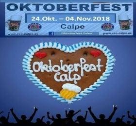 Oktoberfest Calp del 24.Octubre al 04.Noviembre 2018 2
