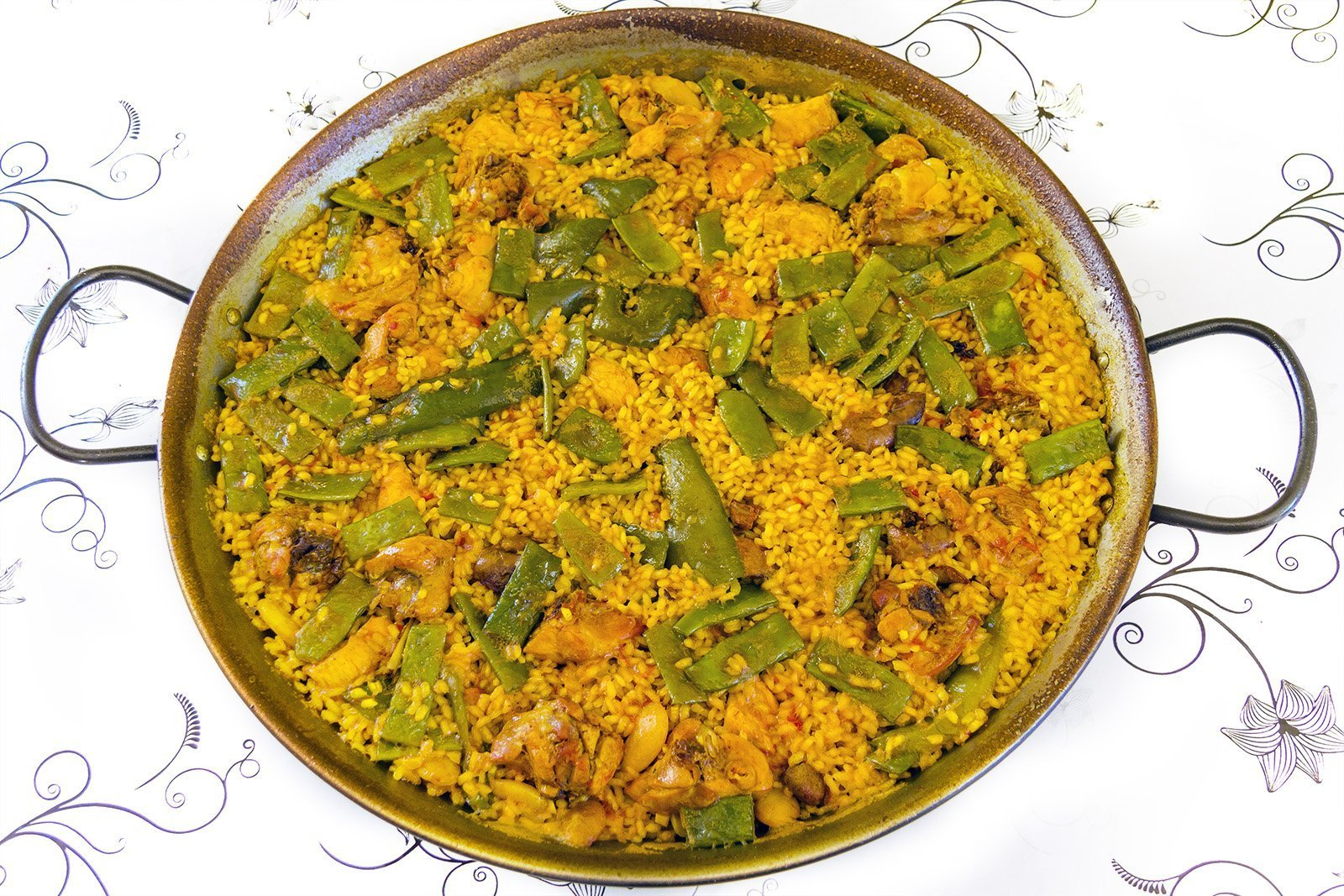 You will be happier if you eat Valencian Paella
