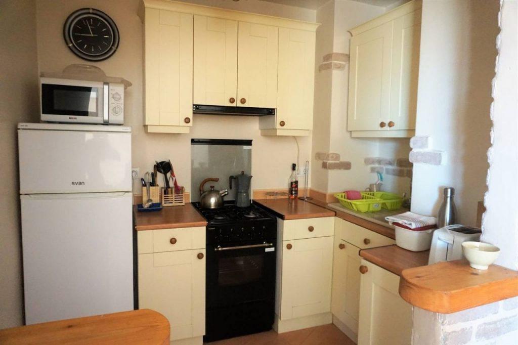 Cocina del Acogedor apartamento