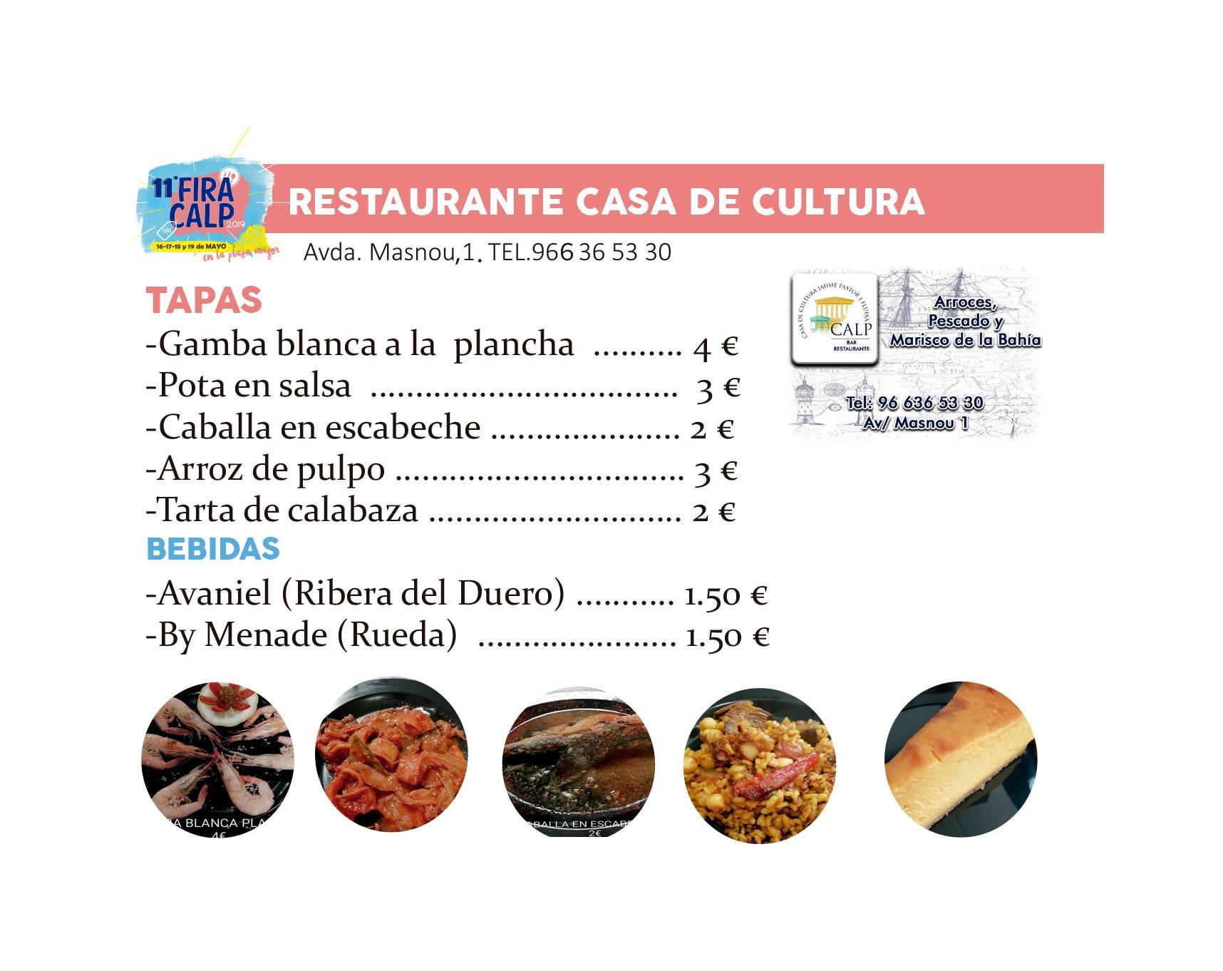 Feria de la Gastronomía y el Comercio 2019 en Calp 5