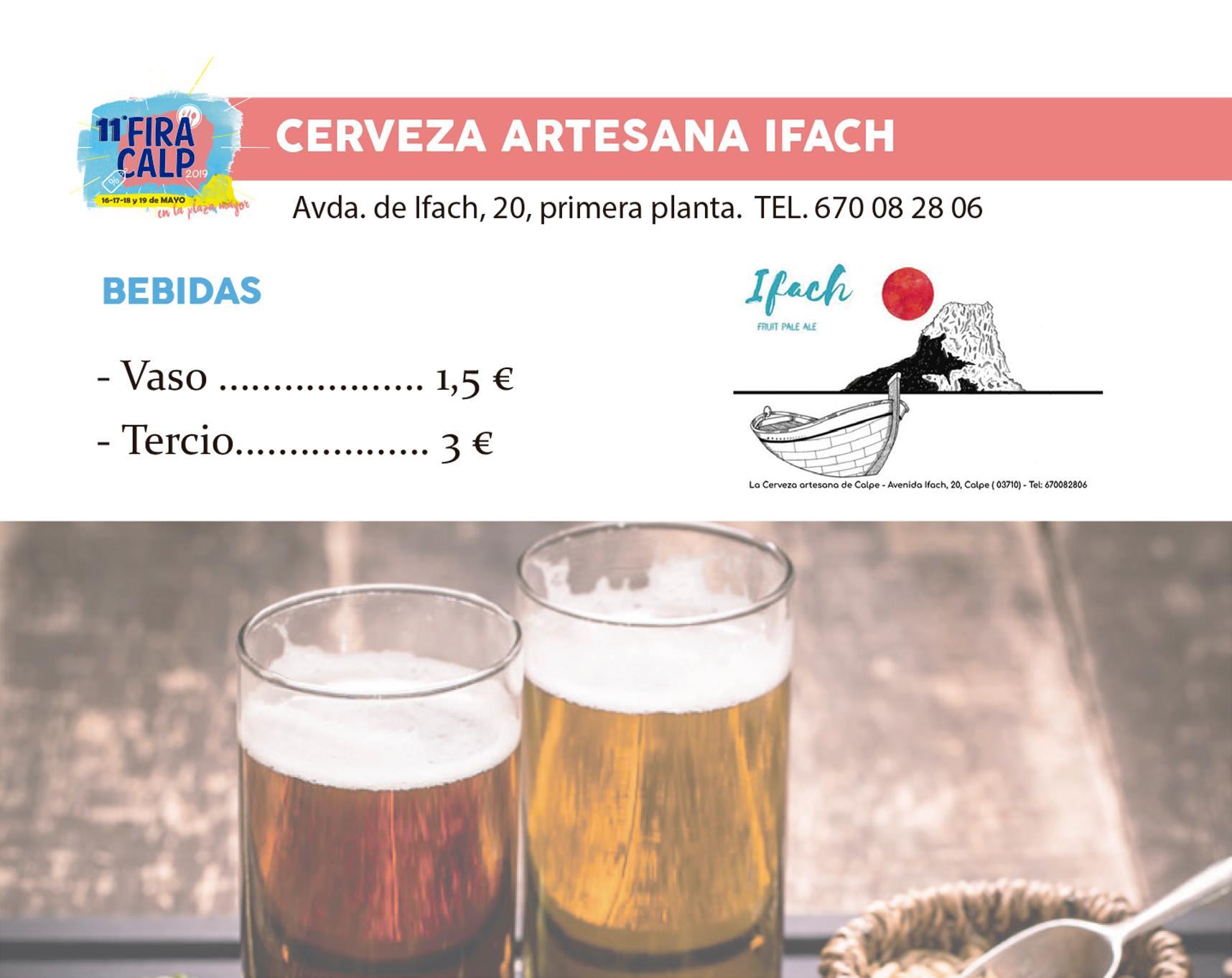 Cerveza artesana Calp