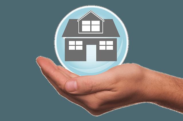 Casa en la palma de la mano