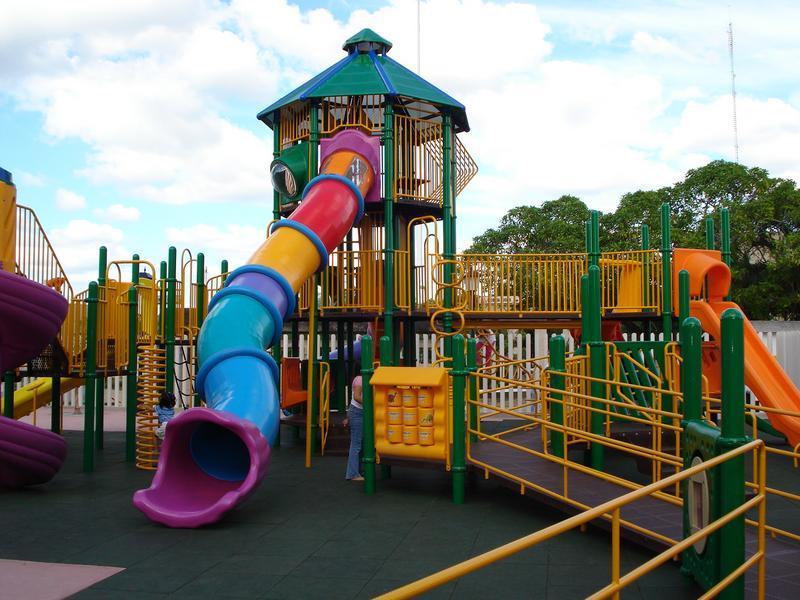 Foto de un parque infantil