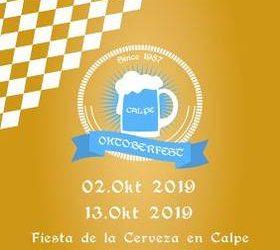 Programación del Oktoberfest – Calp 2019