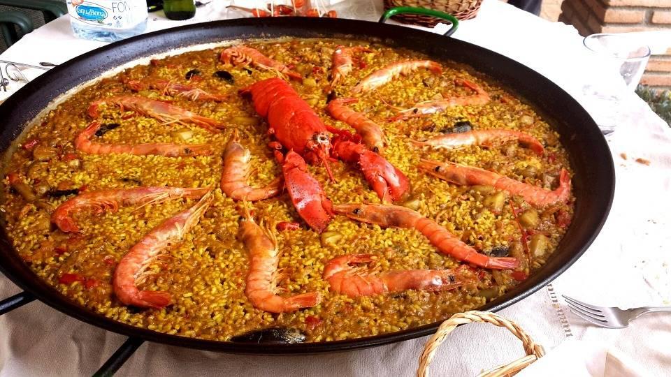 Paella con Bogavante