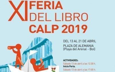 Programación de la Feria del Libro 2019 en Calp