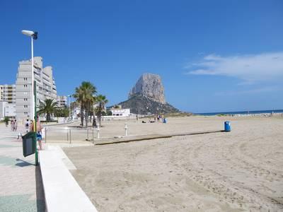 Playa arenal bol de Calpe - Moros y Cristianos 2019