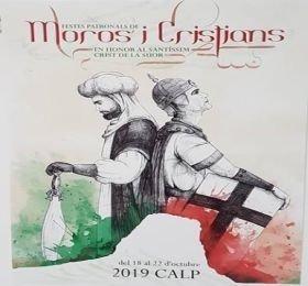 Programa de Mig Any de Moros y Cristianos 2019 en Calp