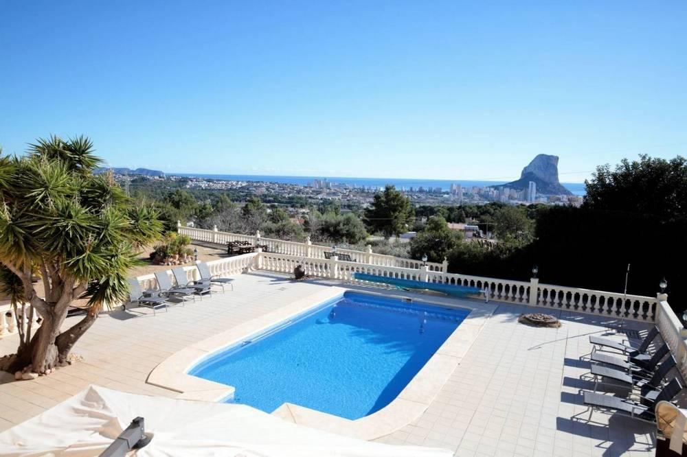 Villa de lujo con vistas al mar en Calpe
