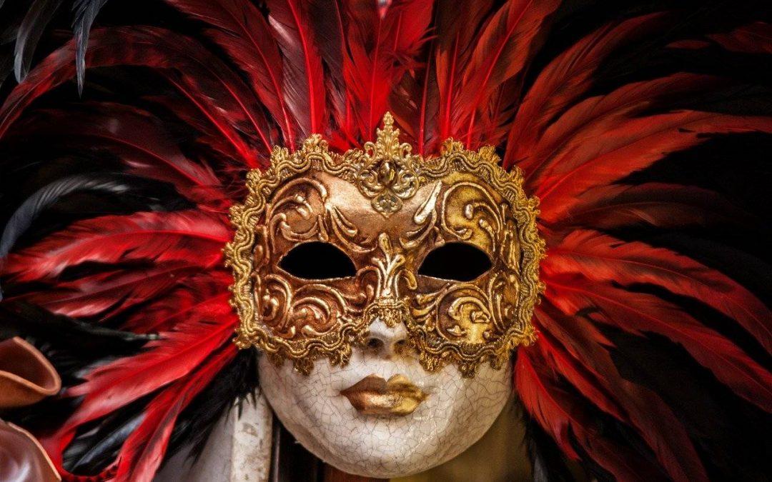 Carnaval de Calp 2020 - Cara con máscara