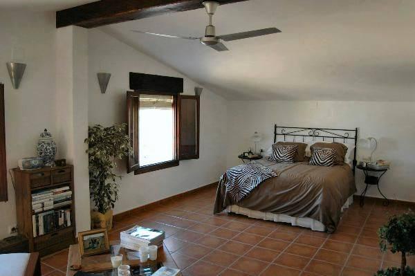 Dormitorio de la finca