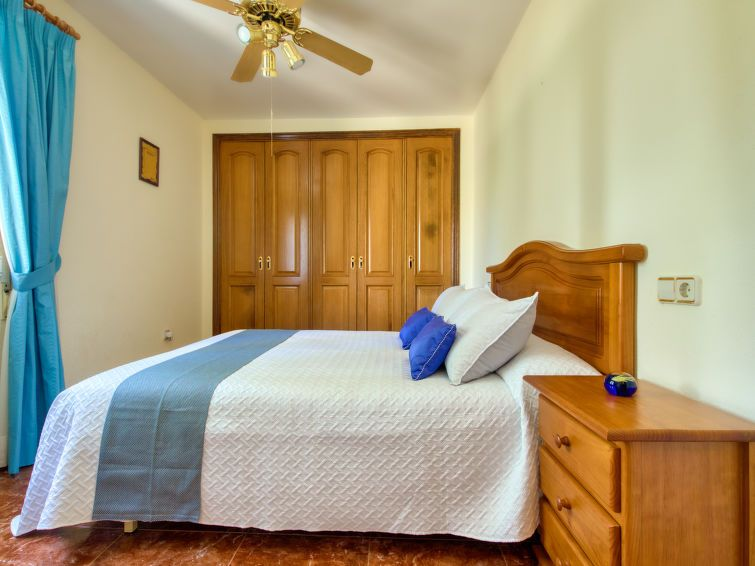 Dormitorio de la villa familiar
