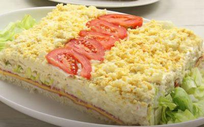 Receta del delicioso sándwich de verano