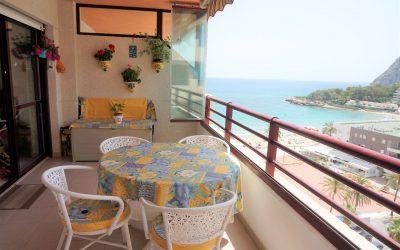 Impecable apartamento en primera línea de playa