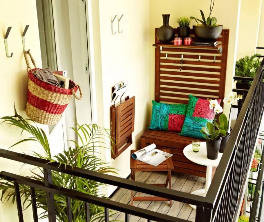 Decoración con muebles plegables