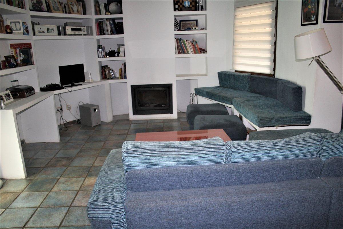 Salón de la Villa de 3 dormitorios situada en una zona tranquila en Calp