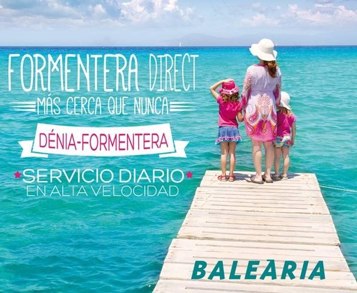 Sorteo de un viaje para 2 personas Denia-Formentera