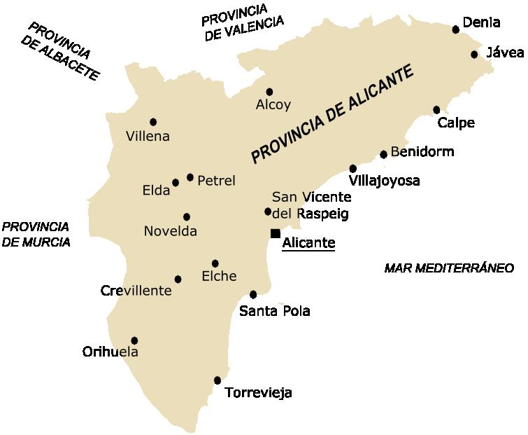 ¿En qué zona de Alicante prefieres vivir, costa o interior?