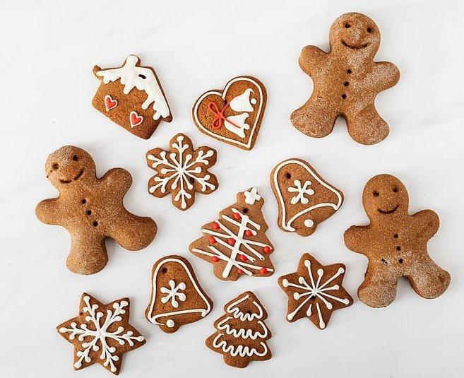 Receta de galletas de Jengibre perfectas para navidad