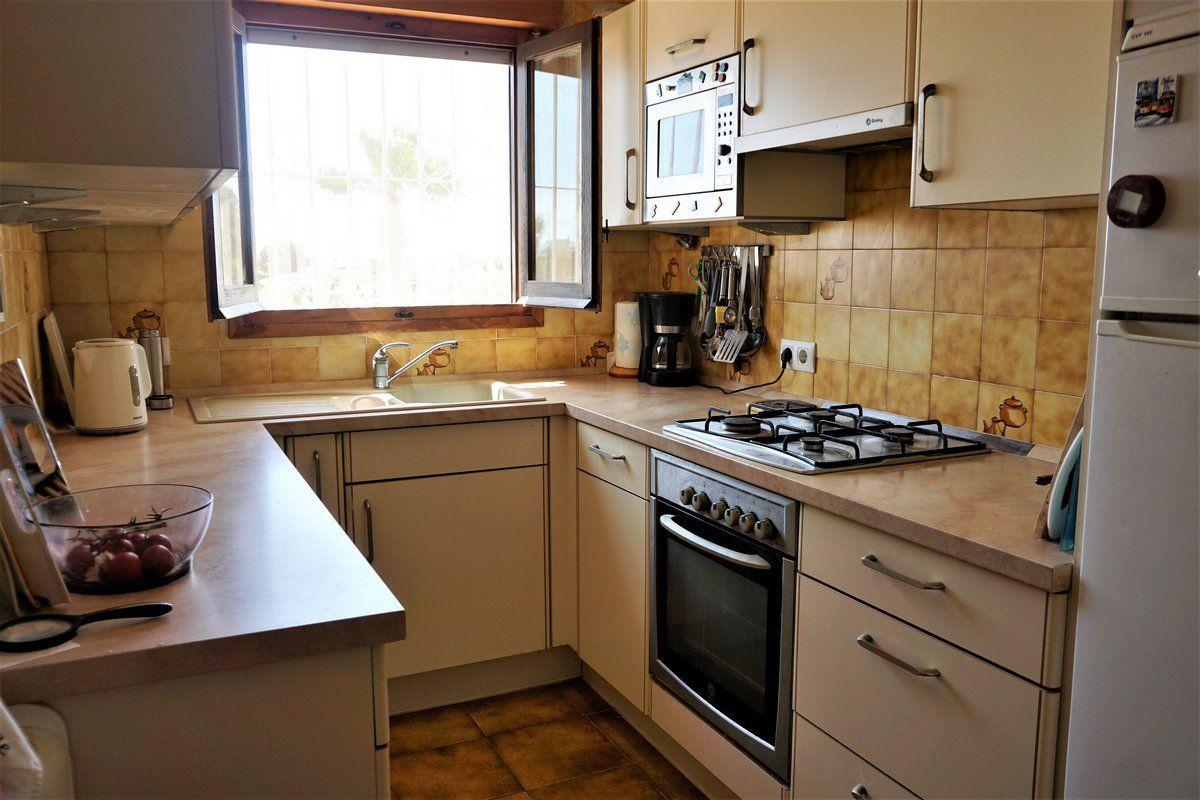 Cocina de la Preciosa villa de 3 dormitorios en Calpe
