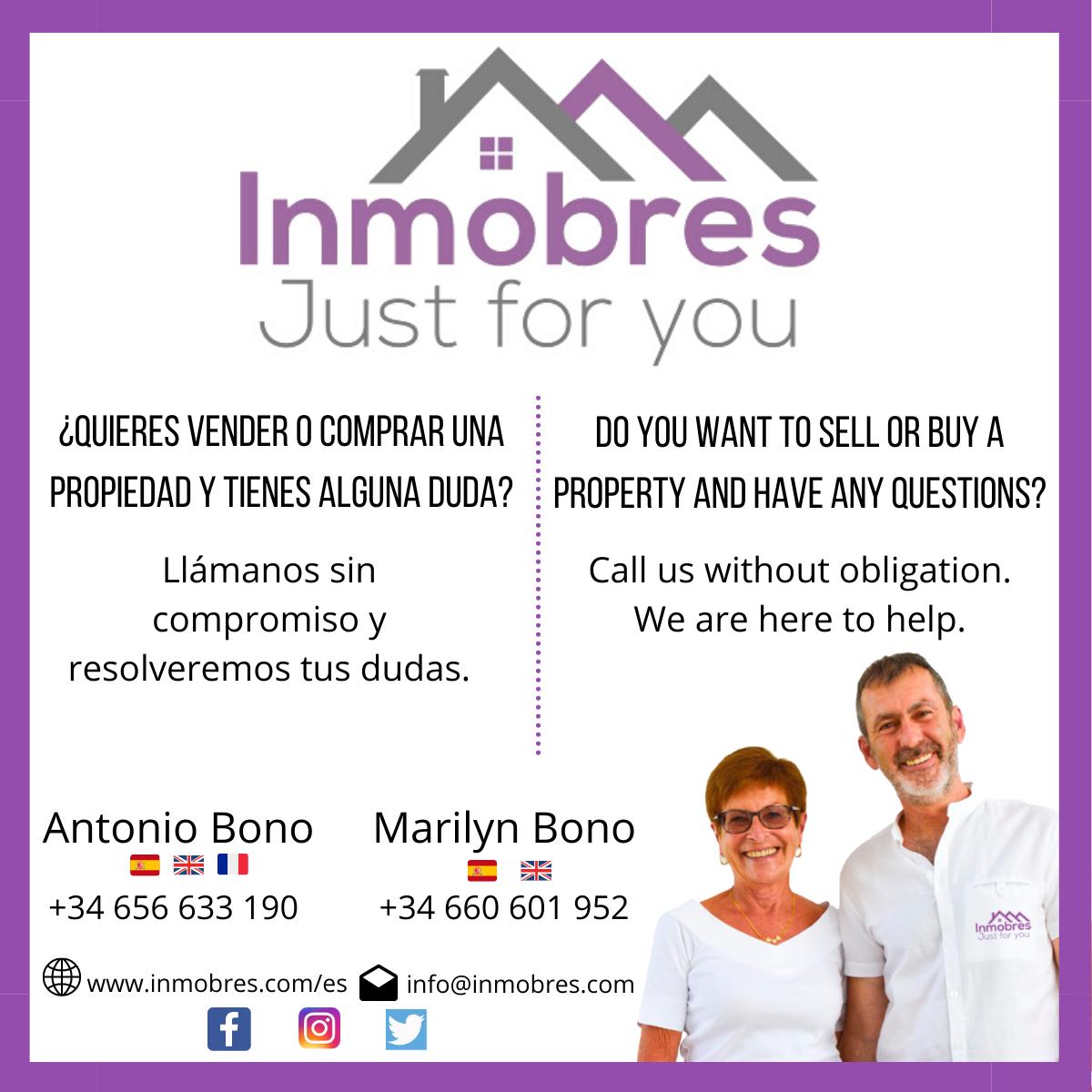 ¿Quieres vender o comprar una propiedad? Llámanos sin compromiso