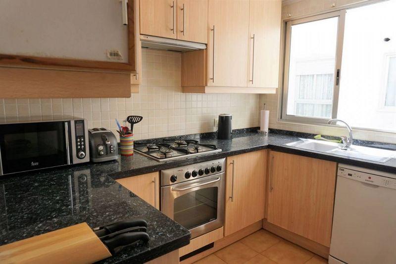 Cocina del Apartamento con gran terraza en Calp